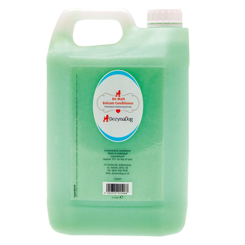 126029 - DezynaDog Magic Formula De-Matt Balsam Conditioner 4L 2015