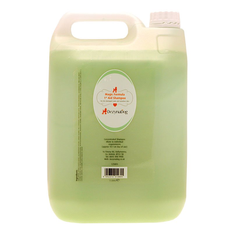 125003 DezynaDog Magic Formula 1st Aid Shampoo 5L