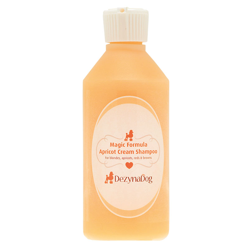 125039 DezynaDog Magic Formula Apricot Cream Shampoo 250ml
