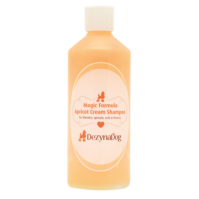 125040 DezynaDog Magic Formula Apricot Cream Shampoo 500ml